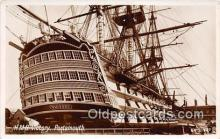 shi020833 - HMS Victory Portsmouth Ship Postcard Post Card