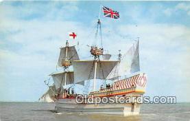 shi020848 - Susan Constant II Jamestown May 13, 1607 Ship Postcard Post Card
