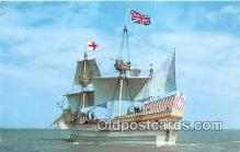 shi020849 - Susan Constant II Jamestown May 13, 1607 Ship Postcard Post Card