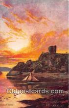shi020863 - Dunolly Castle Oban Bay Ship Postcard Post Card