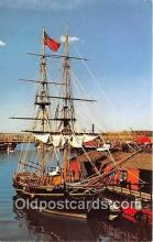 shi020877 - Boston Tea Party Ship Freedom Trails Tea Party Path Ship Postcard Post Card