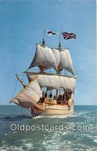 shi020878 - Susan Constant Chesapeake Bay Ship Postcard Post Card