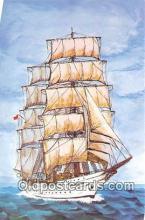 shi020889 - Tovarisch Russia 242 Bark Training Ship Ship Postcard Post Card