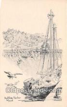 shi020897 - Boothbay Harbor Maine USA Ship Postcard Post Card
