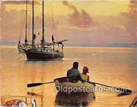 shi020900 - Ship Postcard Post Card