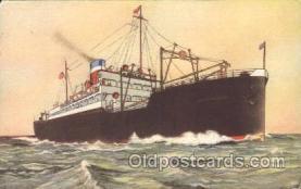 shi023003 - American Merchant Line, Lines Ship Ships Postcard Postcards