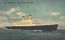 shi023007 - SS Independence American Export Line, Lines Ship Ships Postcard Postcards
