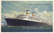 shi023013 - SS Independence & SS Constitution American Export Line, Lines Ship Ships Postcard Postcards