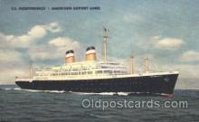shi023014 - SS Independence  American Export Line, Lines Ship Ships Postcard Postcards