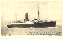 shi024019 - T.S.S. Cameronia Anchor - Donaldson Line, Lines Ship Ships Postcard Postcards