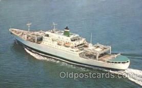 shi028001 - Santa Magdalena, Santa Mariana, Santa Maria, Santa Mercedes Grace Line, Lines Ship Ships Postcard Postcards