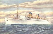 shi030002 - S.S. Atlantic Homelines, Home Lines, Line, Ship Ships Postcard Postcards