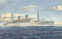 shi030014 - MS Italia Home Lines, Ship, Ships, Postcard Postcards
