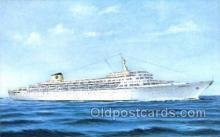 shi030020 - SS Oceanic Home Lines, Ship, Ships, Postcard Postcards