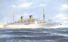 shi030021 - MS Italia Home Lines, Ship, Ships, Postcard Postcards