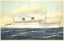 shi030026 - SS Homeric Home Lines, Ship, Ships, Postcard Postcards