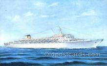 shi030027 - SS Oceanic Home Lines, Ship, Ships, Postcard Postcards