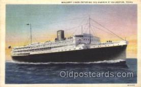 shi031002 - Galveston Texas, USA Mallory Liner, Line, Lines, Ship Ships Postcard Postcards