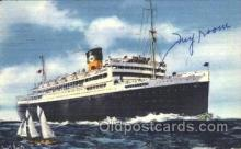 shi033001 - The Good Neighbor Liners Argentina and Brazil Moore - McCormack Lines Ocean Liner Ship Ships Postcard Postcards