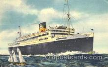 shi033002 - The Good Neighbor Liners Argentina, Brazil, and Uruguay Moore - McCormack Lines Ocean Liner Ship Ships Postcard Postcards