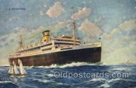shi033003 - S.S. Argentina Moore - McCormack Lines Ocean Liner Ship Ships Postcard Postcards