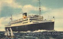 shi033004 - The good Neighbor liners Brazil, Uruguay and Argentina Moore - McCormack Lines Ocean Liner Ship Ships Postcard Postcards