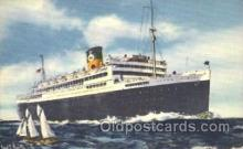shi033005 - The good Neighbor liners Argentina and Brazil Moore - McCormack Lines Ocean Liner Ship Ships Postcard Postcards