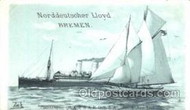 shi035002 - Barbarossa Norddeutscher Lloyd Ship Ships Postcard Postcards
