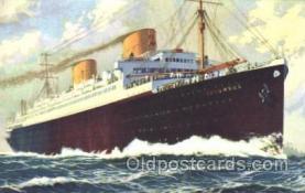 shi035007 - Columbus Norddeutscher Lloyd Ship Ships Postcard Postcards