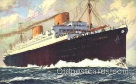 shi035008 - Columbus Norddeutscher Lloyd Ship Ships Postcard Postcards
