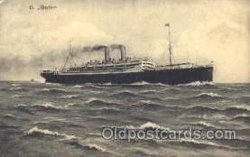 shi035013 - Berlin Norddeutscher Lloyd Ship Ships Postcard Postcards