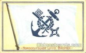 shi035042 - Bremen Norddeutscher Lloyd Ship Ships Postcard Postcards