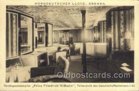 shi035516 - Prinz Fredrich Wilhelm Norddeutscher Lloyd, Breman, Ship Postcard Postcards
