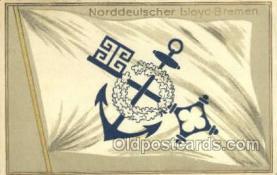 shi035547 - Norddeutscher Lloyd, Breman, Ship Postcard Postcards