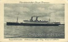 shi035549 - Norddeutscher Lloyd, Breman, Ship Postcard Postcards