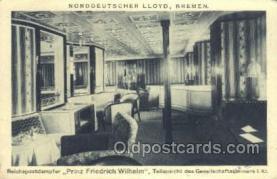 shi035570 - Prinz Friedrich Wilhelm Norddeutscher Lloyd, Breman, Ship Postcard Postcards