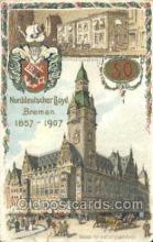 shi035580 - Neues Verwaltungsgebaude Norddeutscher Lloyd, Breman, Ship Postcard Postcards