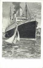 shi035586 - Artist Bernd Steiner Norddeutscher Lloyd, Breman, Ship Postcard Postcards