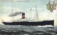 shi036002 - S.S. United States Scandanavian American Line, Ship Ships Postcard Postcards