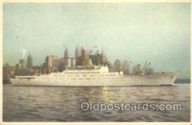 shi037009 - M.S. Stockholm Swedish American Line, Lines Ship Ships Postcard Postcards