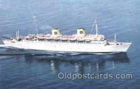 shi037013 - M.S. Kungsholm Swedish American Line, Lines Ship Ships Postcard Postcards