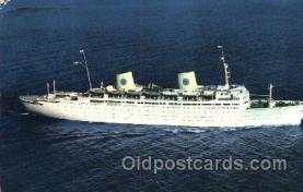 shi037014 - M.S. Gripsholm Swedish American Line, Lines Ship Ships Postcard Postcards