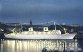 shi037015 - M.S. Gripsholm Swedish American Line, Lines Ship Ships Postcard Postcards
