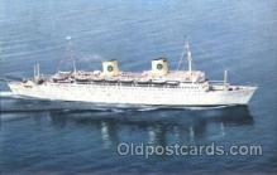shi037016 - M.S. Kungsholm Swedish American Line, Lines Ship Ships Postcard Postcards