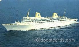 shi037017 - M.S. Kungsholm Swedish American Line, Lines Ship Ships Postcard Postcards