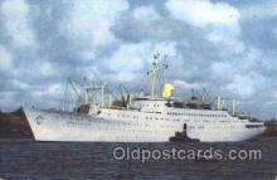 shi037018 - M.S. Stockholm Swedish American Line, Lines Ship Ships Postcard Postcards