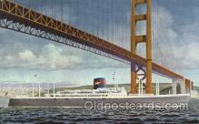 shi040003 - S.S. President Hoover American President Lines, Line, Ship Ships Postcard Postcards