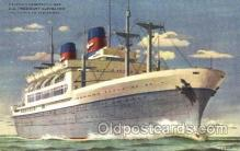 shi040004 - S.S. President Cleveland American President Lines, Line, Ship Ships Postcard Postcards
