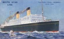 shi042002 - R.M.S. Homeric White Star Line, Lines, Liner, Ship Ships Postcard Postcards
