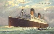shi042011 - R.M.S. Homeric White Star Line, Lines, Liner, Ship Ships Postcard Postcards